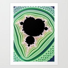 Mandelbrot Lace Art Print