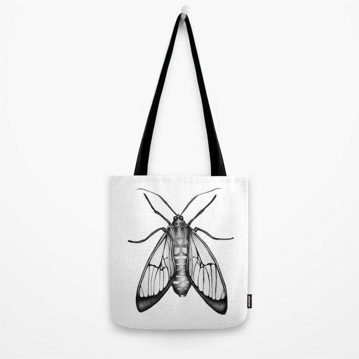Wasp Moth Tote Bag