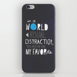 Visual Distractions iPhone Skin