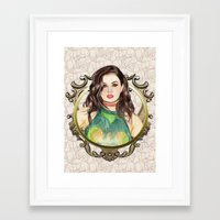 charli xcx Framed Art Prints featuring Charli XCX by Share_Shop