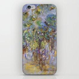 "Claude Monet ""Wisteria"", 1919-1920 iPhone Skin"