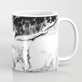 pink and black marble Coffee Mug