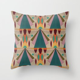 Rockets Throw Pillow