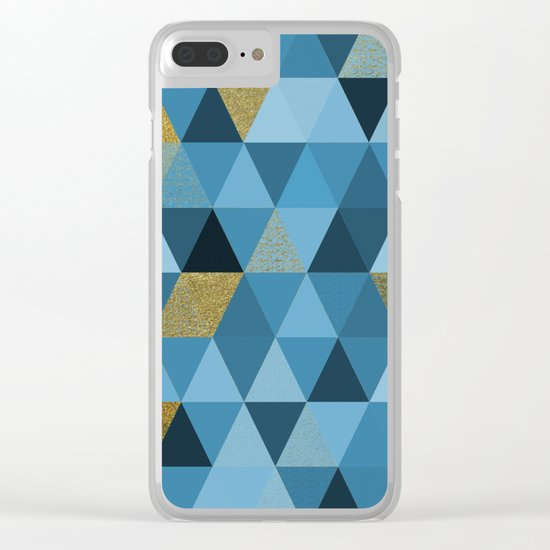 Abstract #328 Clear iPhone Case