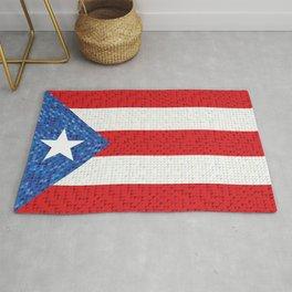Puerto Rico Flag Rug