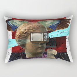 Wonder Wood Dream Mountains - The Demon Cleaner Series · You Got Me Floatin´ Rectangular Pillow