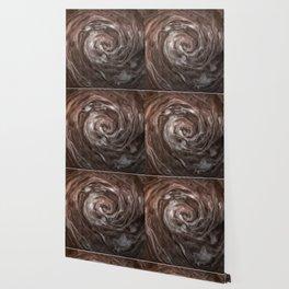 Coffee and cream swirl Wallpaper