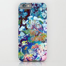 The Barrier Reef, AUSTRALIA               by Kay Lipton iPhone Case