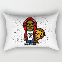 kid cud bape toon Rectangular Pillow