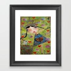 Honor This Moment Framed Art Print