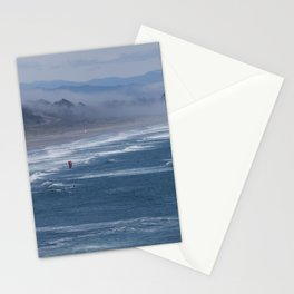 Kitesurfers Stationery Cards