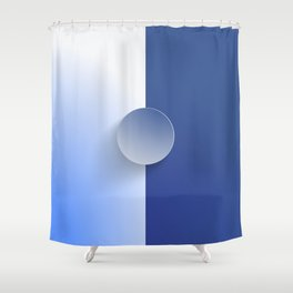 Book of your face Shower Curtain