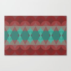 Red vs. Green Canvas Print