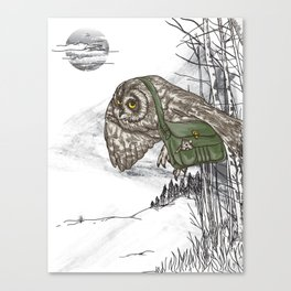 The Navigator Canvas Print