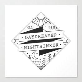 daydreamer nighthinker II Canvas Print