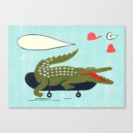 kroko Canvas Print