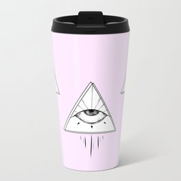 Pinkeye Metal Travel Mug