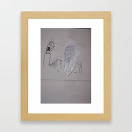 Lügner Framed Art Print