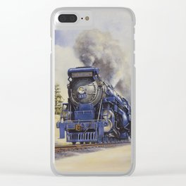 The Seashore's Finest Train Clear iPhone Case