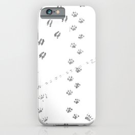 Animal Tracks of North America iPhone Case