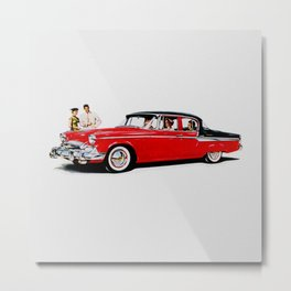 1955 Packard Studebaker Car Metal Print