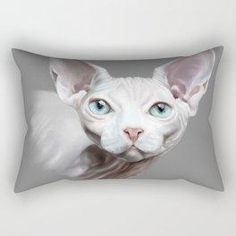 Sphynx cat Rectangular Pillow