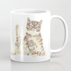 Cheeky Kitty Cat Coffee Mug
