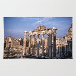 Roman Ruins - Vintage photography Rug