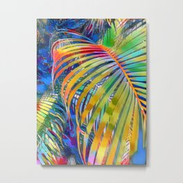 Palm Triptych #3 (Right) Metal Print