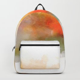Soft Marigold Pastel Abstract Backpack