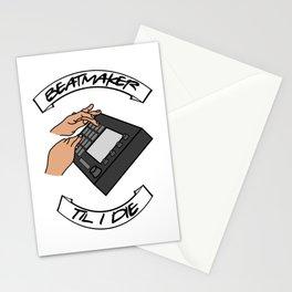 Beatmaker til i die. Dj Hip Hop Music Producer MPC Stationery Cards