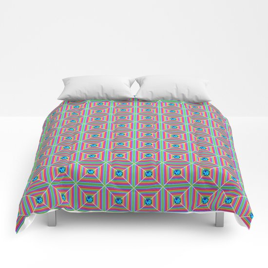 Connect the Dots Pattern Comforters