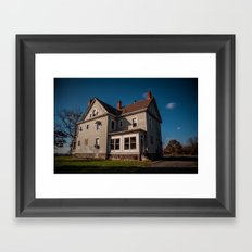 What Was Framed Art Print