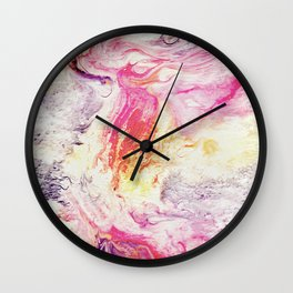 Deluge On Fire Wall Clock