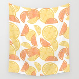 14 Citrus Showers Wall Tapestry