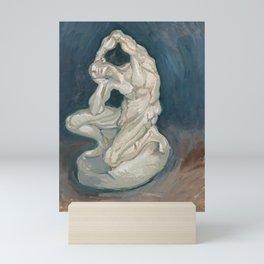 Kneeling Ecorche by Vincent van Gogh, 1886 Mini Art Print