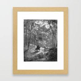 Don Quijote Framed Art Print