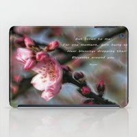 poem iPad Cases featuring Poem from Rumi 2 by Lucia