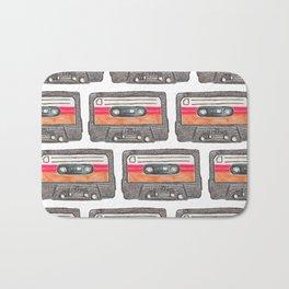 Cassette Pattern *Orange Bath Mat