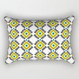 Tribal yellow pattern Rectangular Pillow