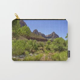 The Watchman 4739 - Zion National Park, Utah Carry-All Pouch