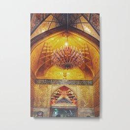 Gold Arch Metal Print