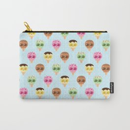 Kawaii ice cream friends Carry-All Pouch