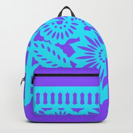 PAPEL PICADO - purple Backpack