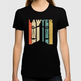 Vintage 1970's Style Lawyer Graphic T-shirt