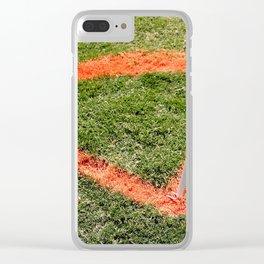 Soccer Corner Clear iPhone Case