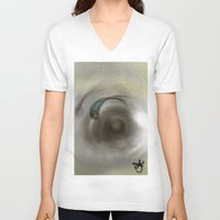 koi V-neck T-shirts featuring Koi by ANoelleJay
