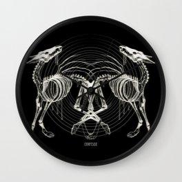 Skeletons Wall Clock