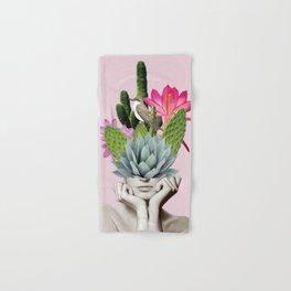 Cactus Lady Hand & Bath Towel