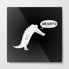 Domo Alligator Metal Print